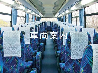石巻で大型バス、中型バス、小型バス、マイクロバスなど、豊富なバリエーションから選べる「車両案内」