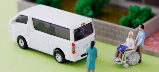 石巻松山のタクシーは障害者やバリアフリーに配慮したし車両が特徴